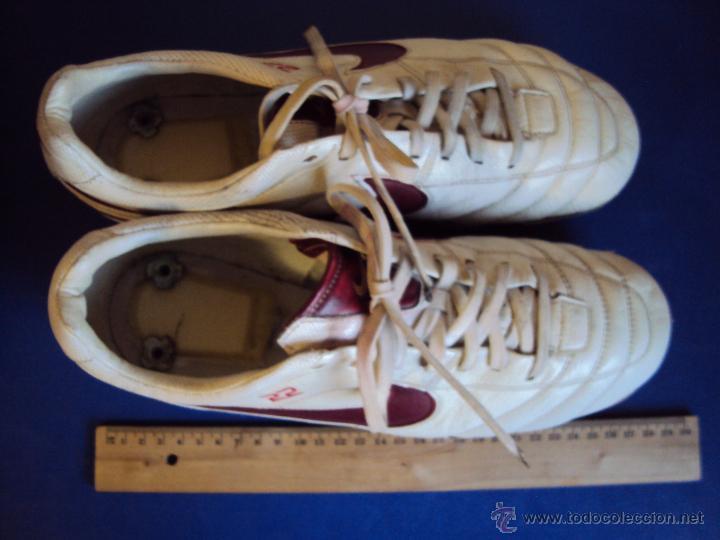 Coleccionismo deportivo: (F-1242)BOTAS DE ABIDAL,F.C.BARCELONA,MARCA NIKE TIEMPO,MATCH WORN - Foto 5 - 53550940