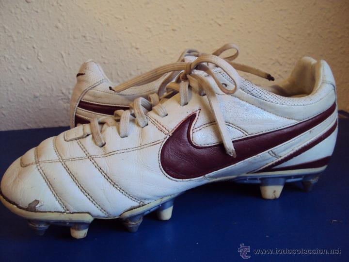 Coleccionismo deportivo: (F-1242)BOTAS DE ABIDAL,F.C.BARCELONA,MARCA NIKE TIEMPO,MATCH WORN - Foto 8 - 53550940