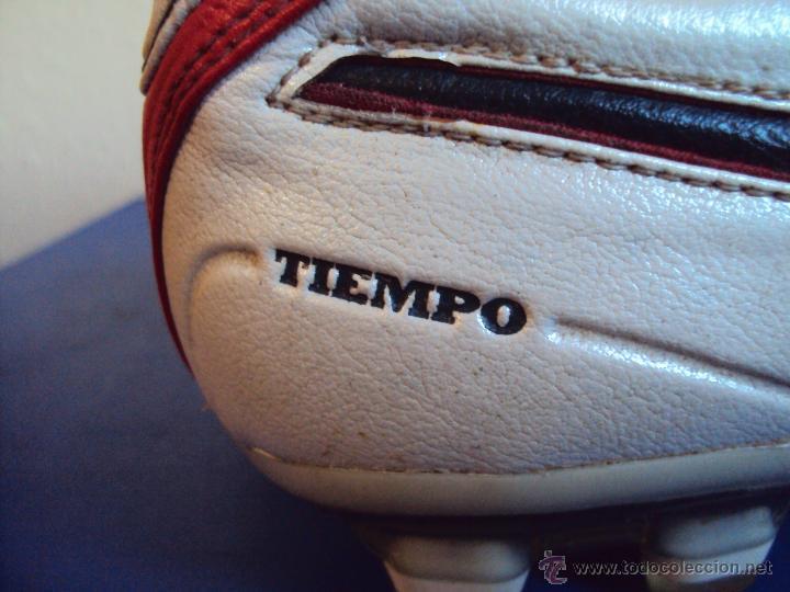 Coleccionismo deportivo: (F-1245)BOTAS DE ABIDAL,F.C.BARCELONA,MARCA NIKE TIEMPO,MATCH WORN - Foto 6 - 53551564