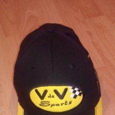 Coleccionismo deportivo: GORRA CAMPEONATO FRANCES DE AUTOMOVILISMO V&V. Lote 54088756