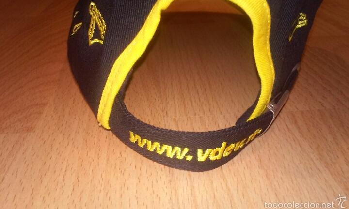 Coleccionismo deportivo: Gorra campeonato frances de automovilismo V&V - Foto 2 - 54088756
