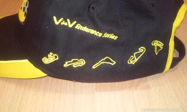 Coleccionismo deportivo: Gorra campeonato frances de automovilismo V&V - Foto 3 - 54088756