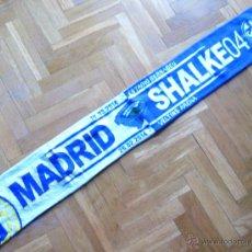 Coleccionismo deportivo: BUFANDA REAL MADRID - FC SCHALKE 04 SHALKE CHAMPIONS LEAGUE13-4 ACRILICA SCARV SCHAL ECHARPE SCIARPA. Lote 54423863