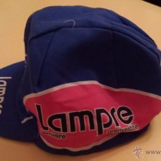 Coleccionismo deportivo: GORRA CICLISMO AASICS EQUIPO LAMPRE. Lote 55086451