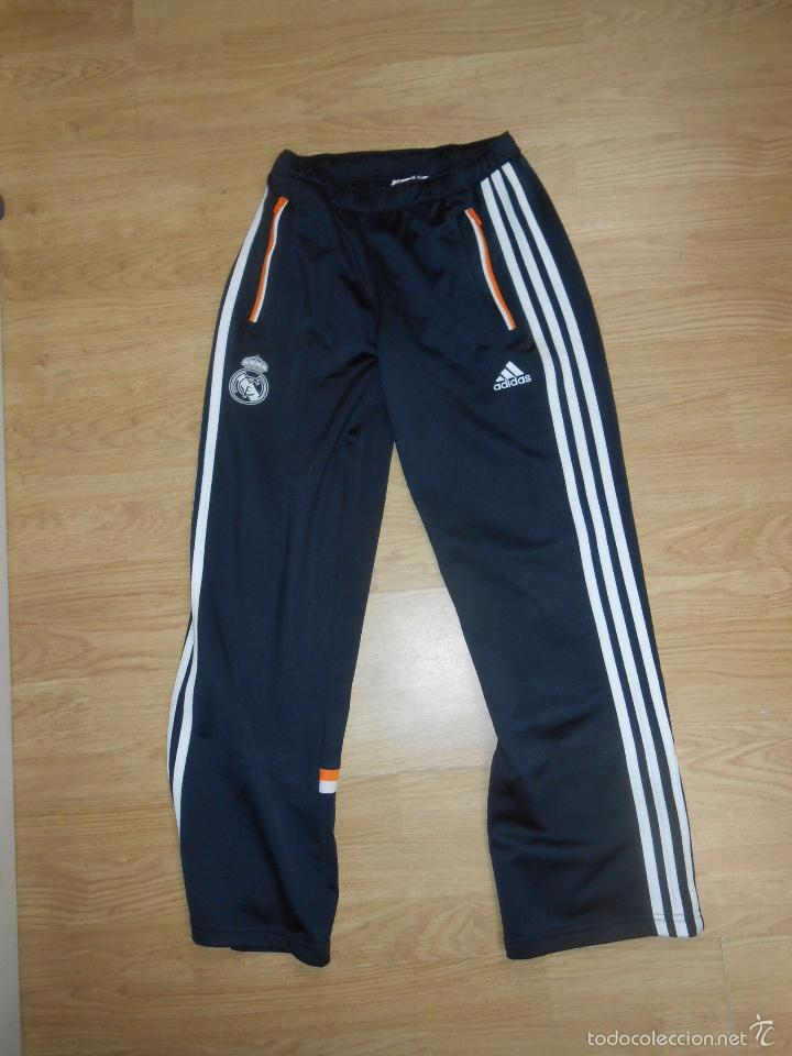 Venta Vendido Pantalon Chandal En Real De Futbol Madrid Club Ag84qR 83c92ea500a5