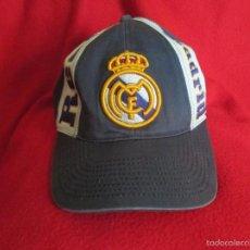 Coleccionismo deportivo: BONITA GORRA DEL REAL MADRID. Lote 56853612