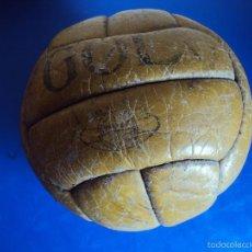 Coleccionismo deportivo: (F-1745)BALON GOL , 12 PANELES , AÑOS 40 - 50S. Lote 57947516