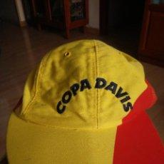 Coleccionismo deportivo: ANTIGUA GORRA DE LA COPA DAVIS ESPAÑOLA, DAVIS CUP. Lote 58251231