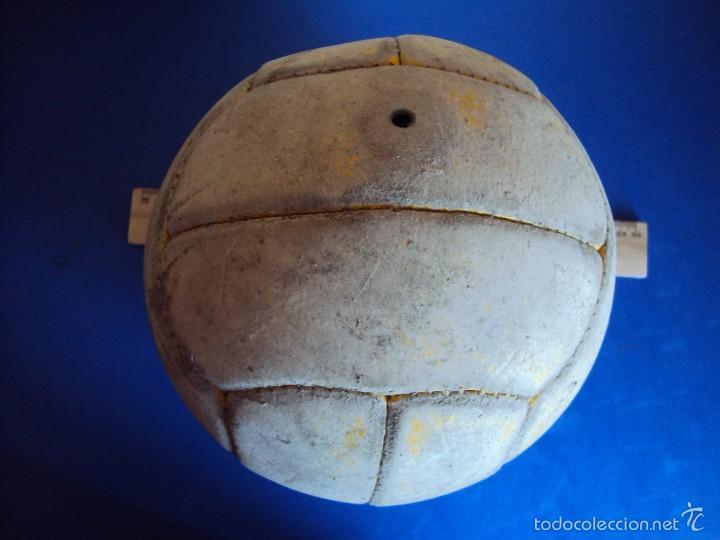 (F-1968)ANTIGUO BALON DE 12 GAJOS , AÑOS 50 - 60 (Coleccionismo Deportivo - Ropa y Complementos - Complementos deportes)