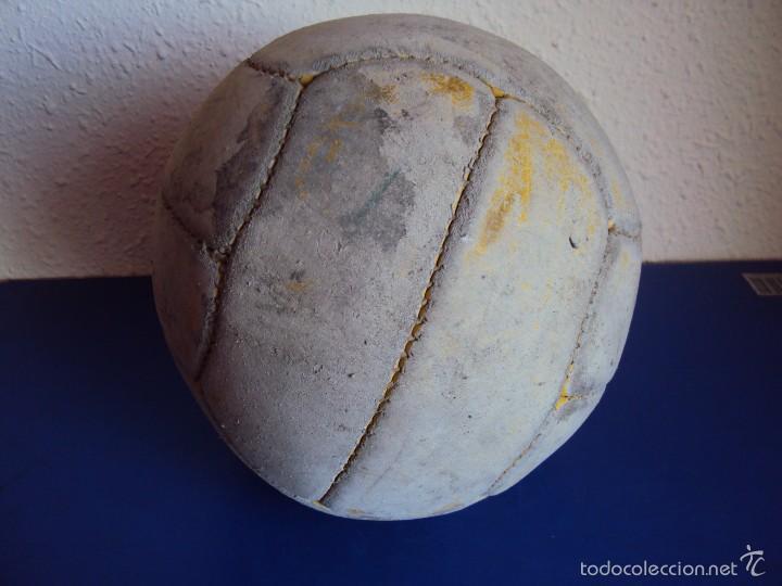 Coleccionismo deportivo: (F-1968)ANTIGUO BALON DE 12 GAJOS , AÑOS 50 - 60 - Foto 3 - 60755447