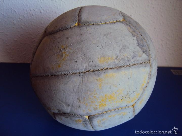 Coleccionismo deportivo: (F-1968)ANTIGUO BALON DE 12 GAJOS , AÑOS 50 - 60 - Foto 4 - 60755447