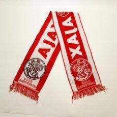 Coleccionismo deportivo: BUFANDA AMSTERDAMSCHE FOOTBALL CLUB AJAX - AJAX DE ÁMSTERDAM. Lote 64735175