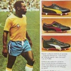 Coleccionismo deportivo: (F-161130)BOTAS DE FUTBOL MARCA PUMA MODELO BRASIL , SIN USO. Lote 82316450