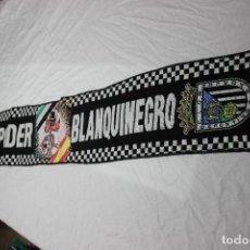 Collectionnisme sportif: BUFANDA DE FUTBOL DE ULTRAS CLUB DEPORTIVO BADAJOZ PODER BLANQUINEGRO SCARF. Lote 65890446