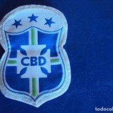 Coleccionismo deportivo: (F-18)ESCUDO BORDADO SELECCION BRASIL AÑOS 80. Lote 126037152