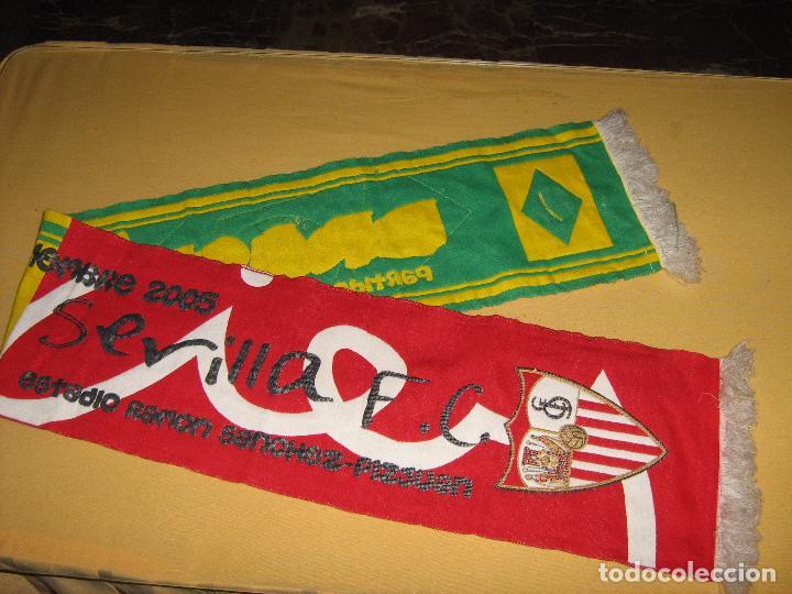 Coleccionismo deportivo: SEVILLA F.C. - SELECCIÓN DE BRASIL - 6 SEPTIEMBRE 2005 - BUFANDA DEL PARTIDO DEL CENTENARIO - Foto 4 - 86521892