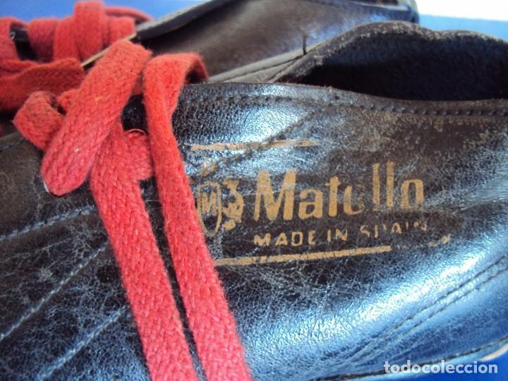 Coleccionismo deportivo: (F-161266)ANTIGUAS BOTAS DE FOOT-BALL , MARCA MATOLLO - Foto 2 - 70137577