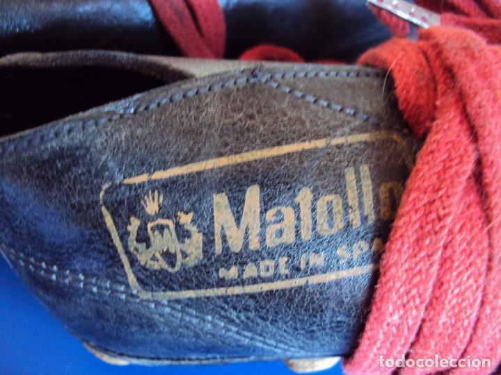 Coleccionismo deportivo: (F-161266)ANTIGUAS BOTAS DE FOOT-BALL , MARCA MATOLLO - Foto 5 - 70137577