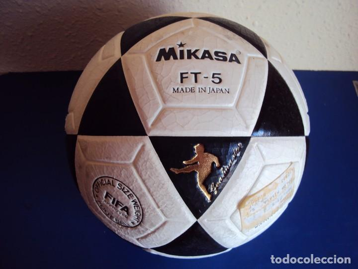 Coleccionismo deportivo: (F-170102)BALON MIKASA FT-5 MADE IN JAPAN , SIN USO - Foto 1 - 71477623