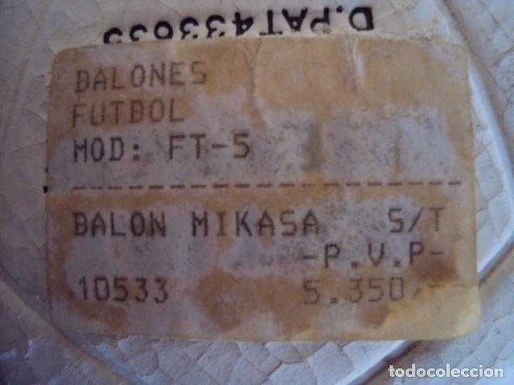 Coleccionismo deportivo: (F-170102)BALON MIKASA FT-5 MADE IN JAPAN , SIN USO - Foto 4 - 71477623
