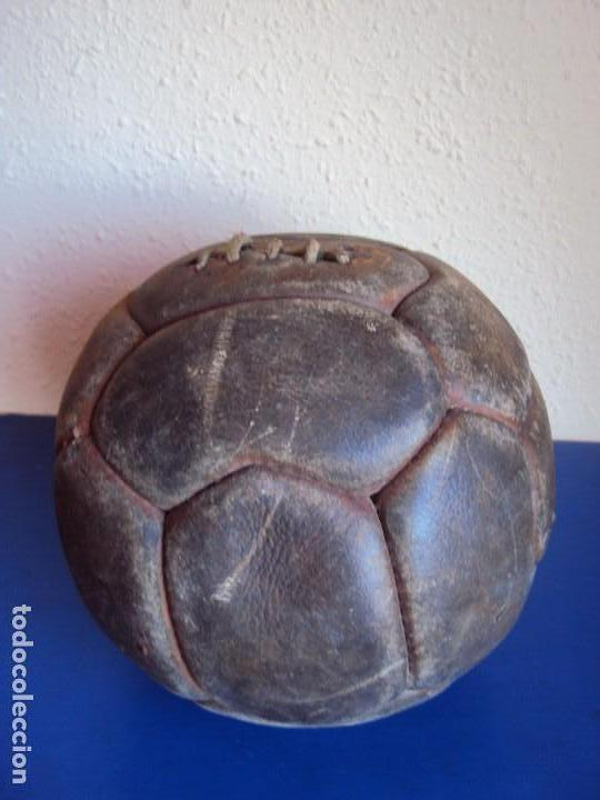 Coleccionismo deportivo: (F-170146)ANTIGUO BALON CORDADO DE 18 PANELES - Foto 3 - 72447319