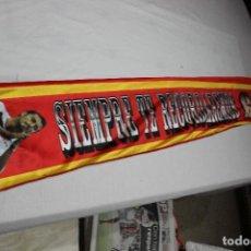 Collectionnisme sportif: BUFANDA DEL MALOGRADO ANTONIO PUERTA DEL SEVILLA F.C. SIEMPRE TE RECORDAREMOS SCARF. Lote 75255903