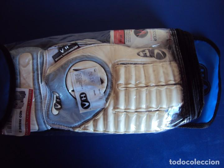 (F-170283)GUANTES HO DE PORTERO PROFESIONAL FUTBOL , VINTAGE , AÑOS 80 - 90 (Coleccionismo Deportivo - Ropa y Complementos - Complementos deportes)