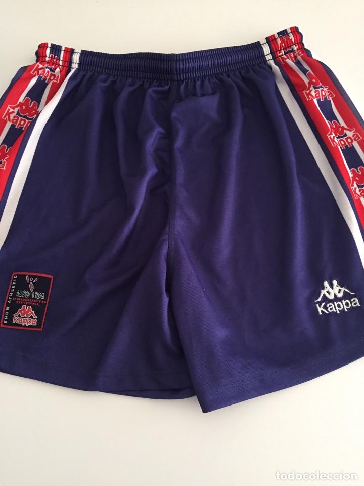 Pantalón corto Athletic de Bilbao. Kappa. Producto oficial Centenario. Ehun  Athletic 2bd8315b18663