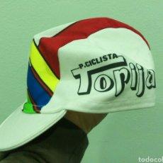 Coleccionismo deportivo: GORRA CICLISMO EQUIPO P. CICLISTA TORIJA. Lote 81454455