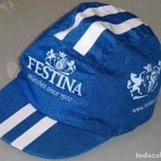 Coleccionismo deportivo: GORRA GORRITA DE CICLISMO. EQUIPO CICLISTA FESTINA. 40 GR. Lote 82743024