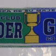 Coleccionismo deportivo: BUFANDA RACING DE SANTANDER VS. GETAFE. SEMIFINALES COPA DEL REY 2008. TDKDEP6. Lote 147580597