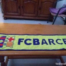 Coleccionismo deportivo: BUFANDA FC BARCELONA. . Lote 90596505