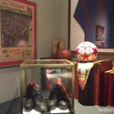 Coleccionismo deportivo: (F-170691) BOTAS ORIGINALES DE GUSTAVO BIOSCA , C.F.BARCELONA , MATCH WORN , MIRAR FOTOS. Lote 90649980