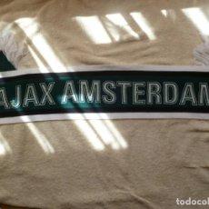Coleccionismo deportivo: BUFANDA AJAX AMSTERDAM. Lote 90769870