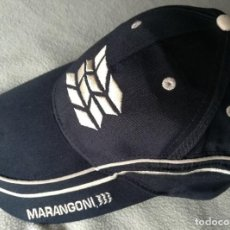 Coleccionismo deportivo: GORRA CAP MARANGONI , ITALIAN DESIGN , BORDADA .. Lote 97305731