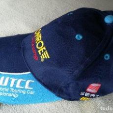 Coleccionismo deportivo: GORRA CAP WTCC MONROE RACING , SEAT , EXAGON , 23 , BORDADA .. Lote 97305947