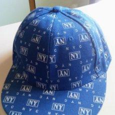 Coleccionismo deportivo: GORRA NY NYC. Lote 98412191