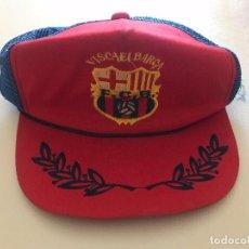Coleccionismo deportivo: GORRA ANTIGUA FCB, FUTBOL CLUB BARCELONA, BARÇA, BOIXOS NOIS. Lote 102500299