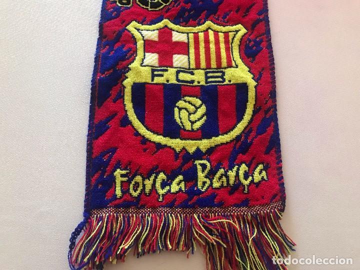 BUFANDA FCB, FUTBOL CLUB BARCELONA, BARÇA, BOIXOS NOIS (Coleccionismo Deportivo - Ropa y Complementos - Complementos deportes)