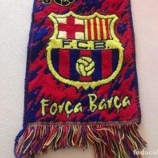 Coleccionismo deportivo: BUFANDA FCB, FUTBOL CLUB BARCELONA, BARÇA, BOIXOS NOIS. Lote 102503871