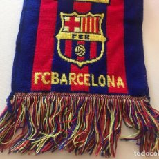 Coleccionismo deportivo: BUFANDA FCB, FUTBOL CLUB BARCELONA, BARÇA, BOIXOS NOIS. Lote 102503967
