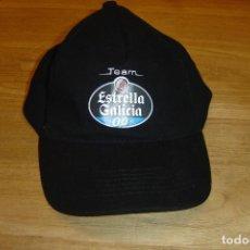 Coleccionismo deportivo: GORRA CERVEZA TEAM ESTRELLA GALICIA. NUEVA.. Lote 104528151