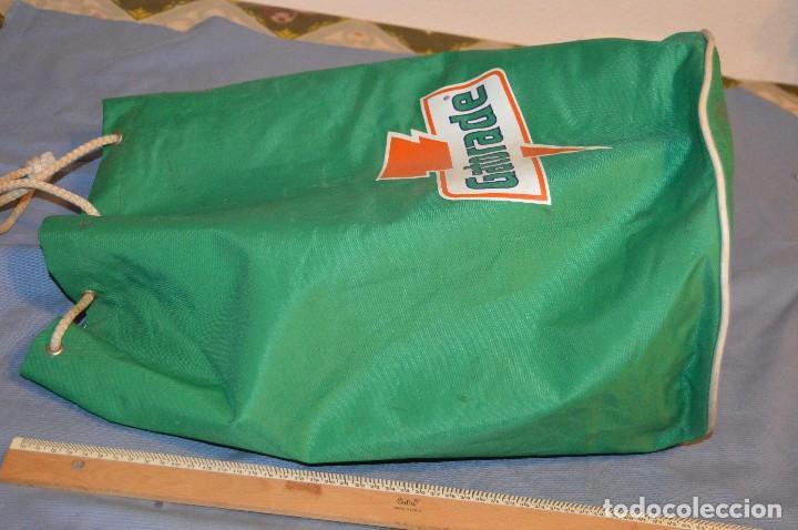 Coleccionismo deportivo: GATORADE - Antiguo morral / talega / mochila-saco / Muy raro, una pieza auténtica de colección - Foto 5 - 104824179