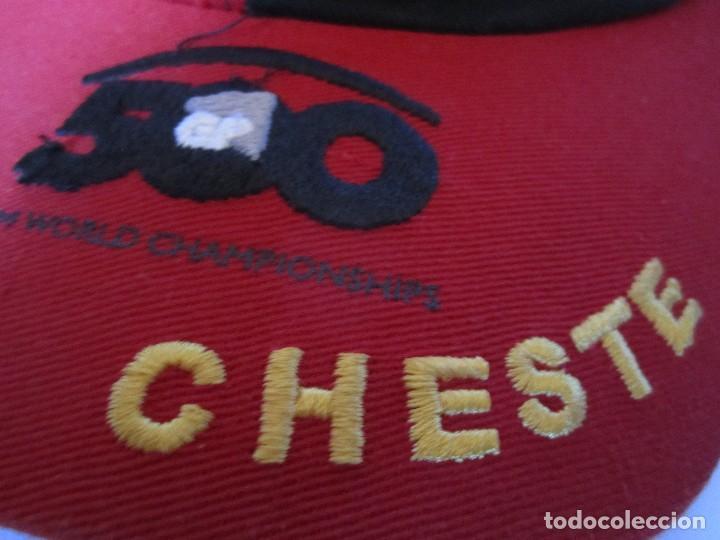 Coleccionismo deportivo: gorra g.p comunitat valenciana cheste gp 500 valencia fim world championships precisport - Foto 2 - 106624523