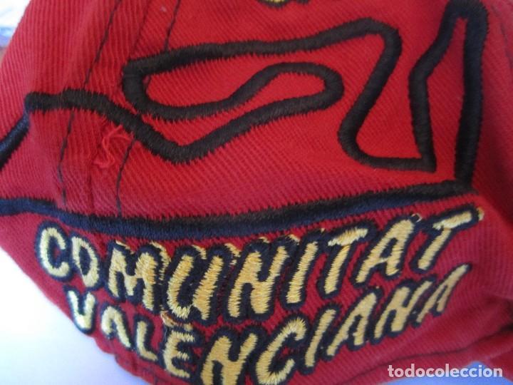 Coleccionismo deportivo: gorra g.p comunitat valenciana cheste gp 500 valencia fim world championships precisport - Foto 4 - 106624523