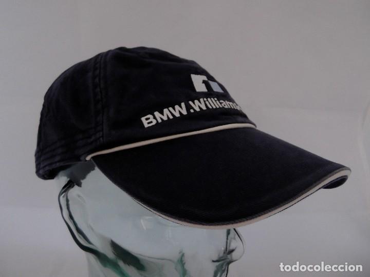 GORRA TIPO BEISBOL DE BMW WILLIAMS F1 TEAM - WURTH (2005) - MARK WEBBER ffc042f5f95