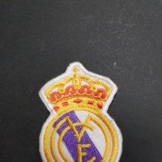 Coleccionismo deportivo: PARCHE TELA ESCUDO REAL MADRID - CAR04. Lote 107984551