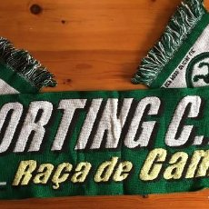 Coleccionismo deportivo: BUFANDA SPORTING PORTUGAL LISBOA OFICIAL SCART. Lote 110091495