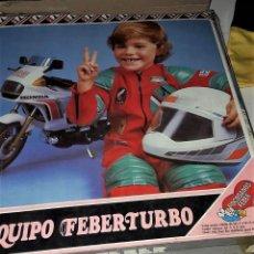 Coleccionismo deportivo: EQUIPO FEBER TURBO DE MOTOCICLISMO. Lote 111815875