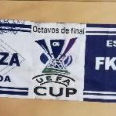 Coleccionismo deportivo: BUFANDA REAL ZARAGOZA UEFA CUP 2005 FK AUSTRIA WIEN. Lote 113416803